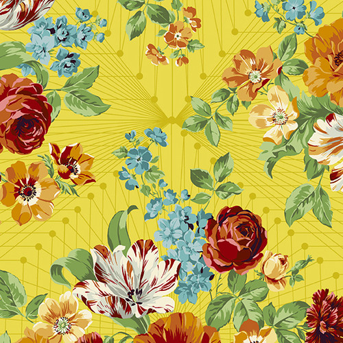 Francesa in Limone  from Nonna by Giucy Giuce for Andover Fabrics.