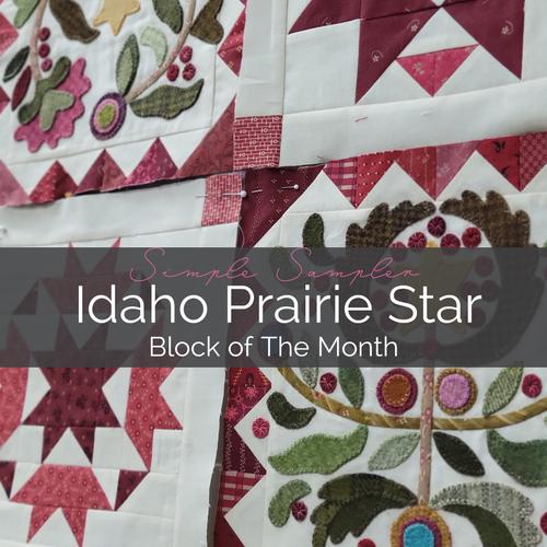 Idaho Prairie Star BOM