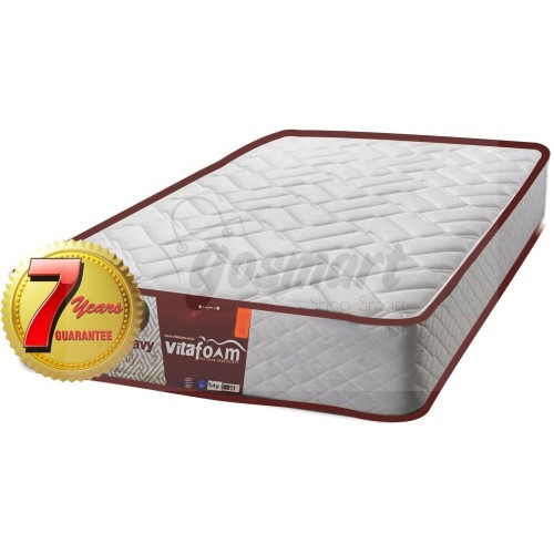 Vitafoam 7-Year Guarantee Premium Quality High Density Foam Mattress from GOSMART