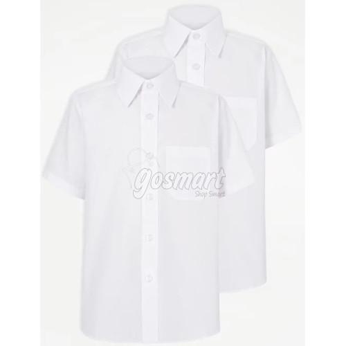 White School Shirts (Short/Long Sleeves)