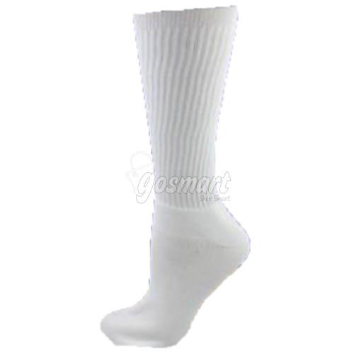 Plain White School Socks from Gosmart