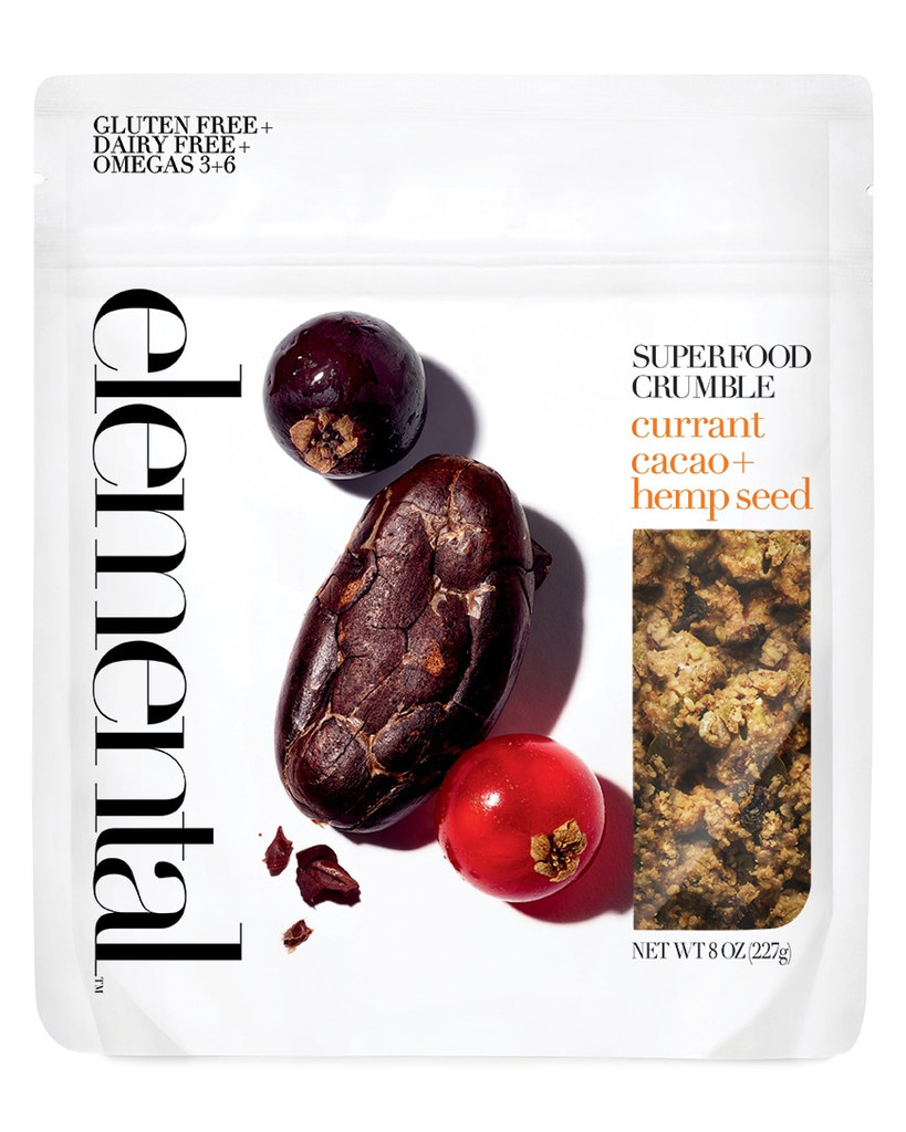 Crumble Currant Cacao + Hemp Seed