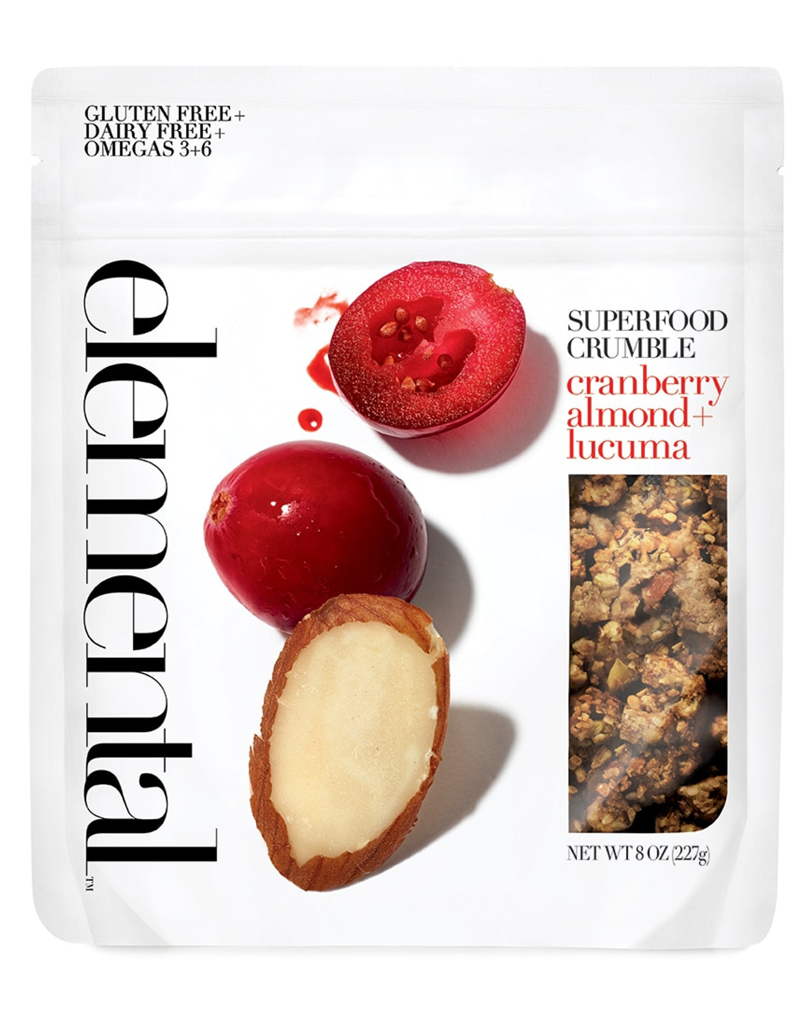 Crumble Cranberry Almond + Lucuma
