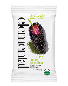 Mulberry Cacao + Spirulina Seedbar (12 bars per pack)