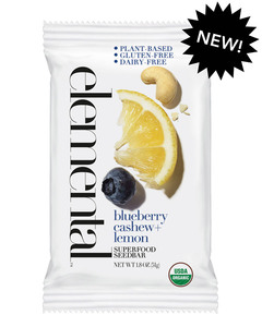 Blueberry Cashew + Lemon Seedbar (12 bars per pack)