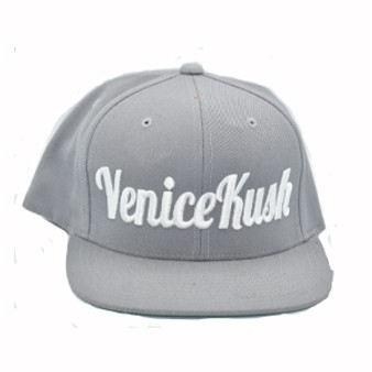 Venice Kush Snap Back - LIGHT GREY