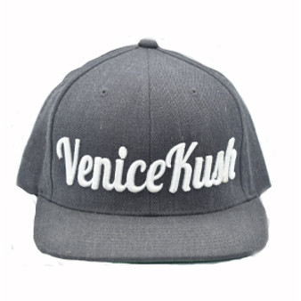 Venice Kush Snap Back - DARK GREY