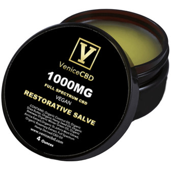 Venice CBD 1000MG Full Spectrum CBD Restorative Salve