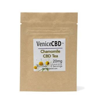 Venice CBD 20 MG CBD Chamomile tea (2 Pack)