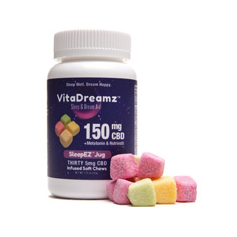 Vita Dream 150mg CBD:MELATONIN Gummy's