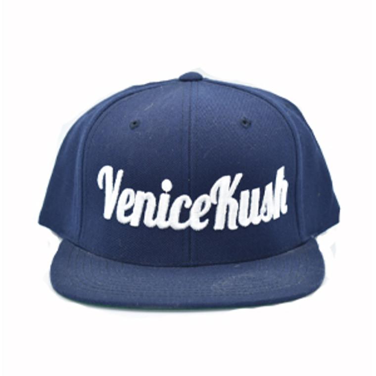 Venice Kush Snap Back - NAVY BLUE