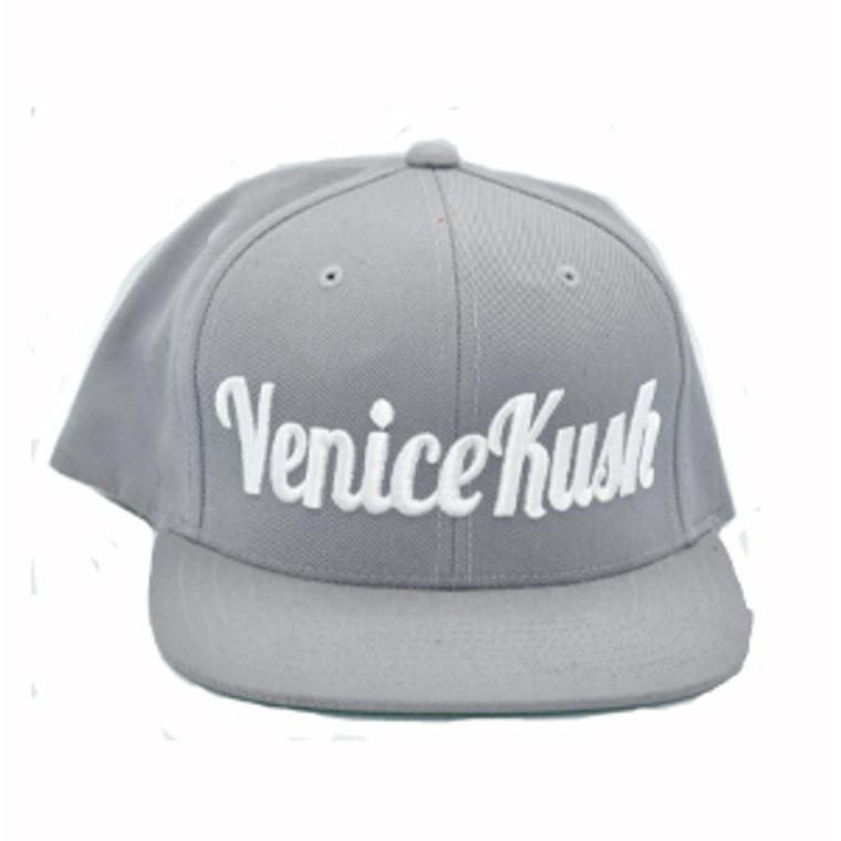 Venice Kush Snap Back - LIGHT GREY