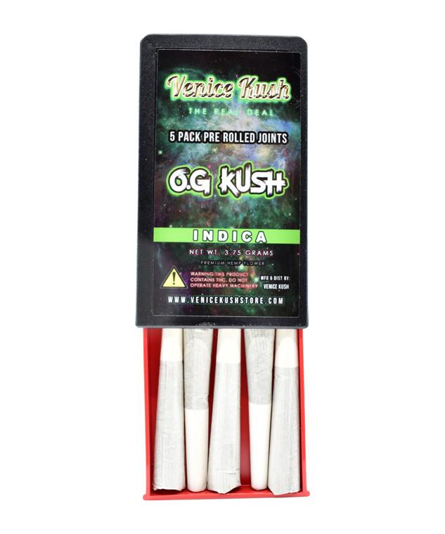Venice Kush 5 Pack Pre Rolls - OG Kush