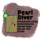 Pearl Diver Cocktail To-Go