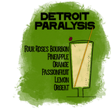 Detroit Paralysis Cocktail To-Go