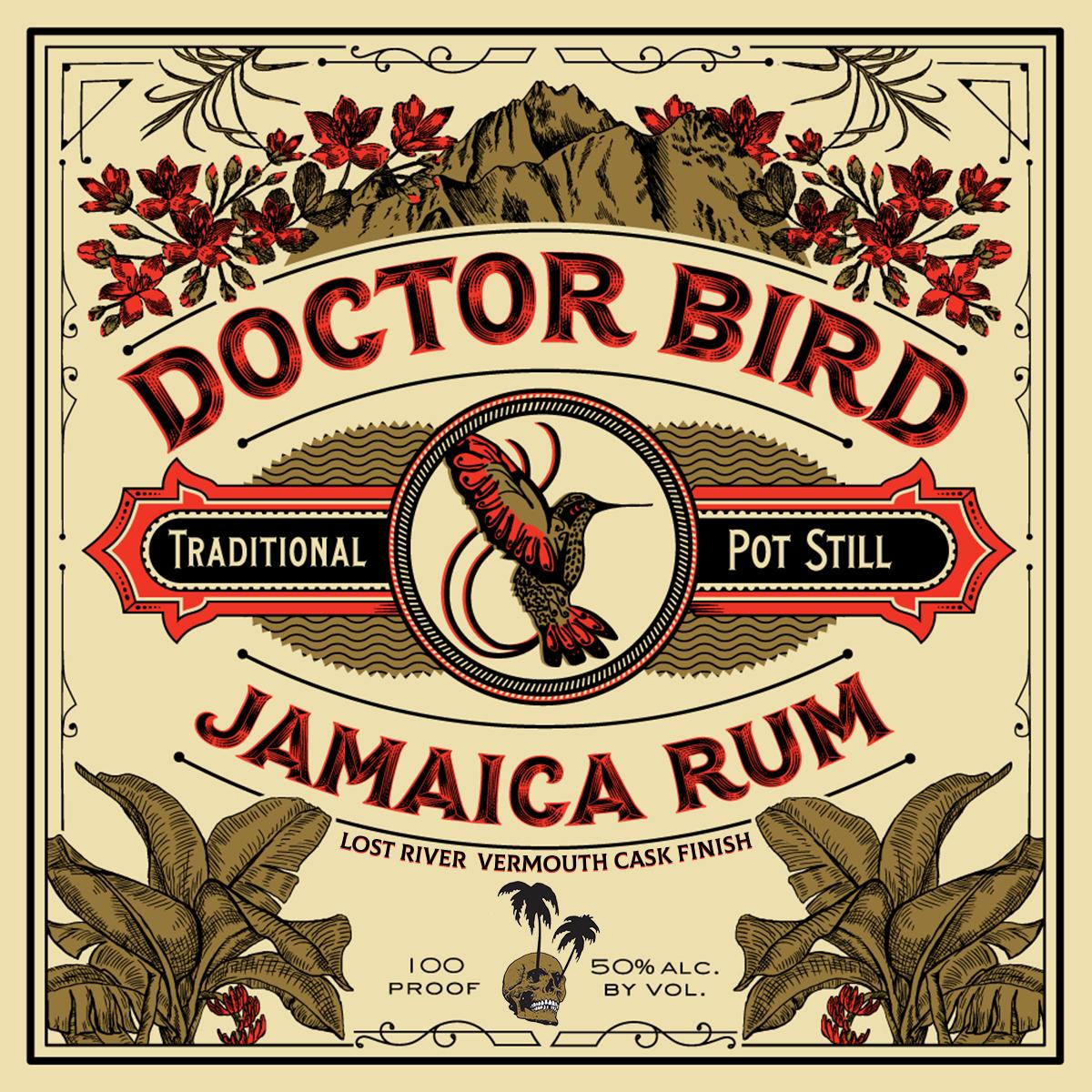 Lost River Vermouth Cask Doctor Bird Shot (50 ML)