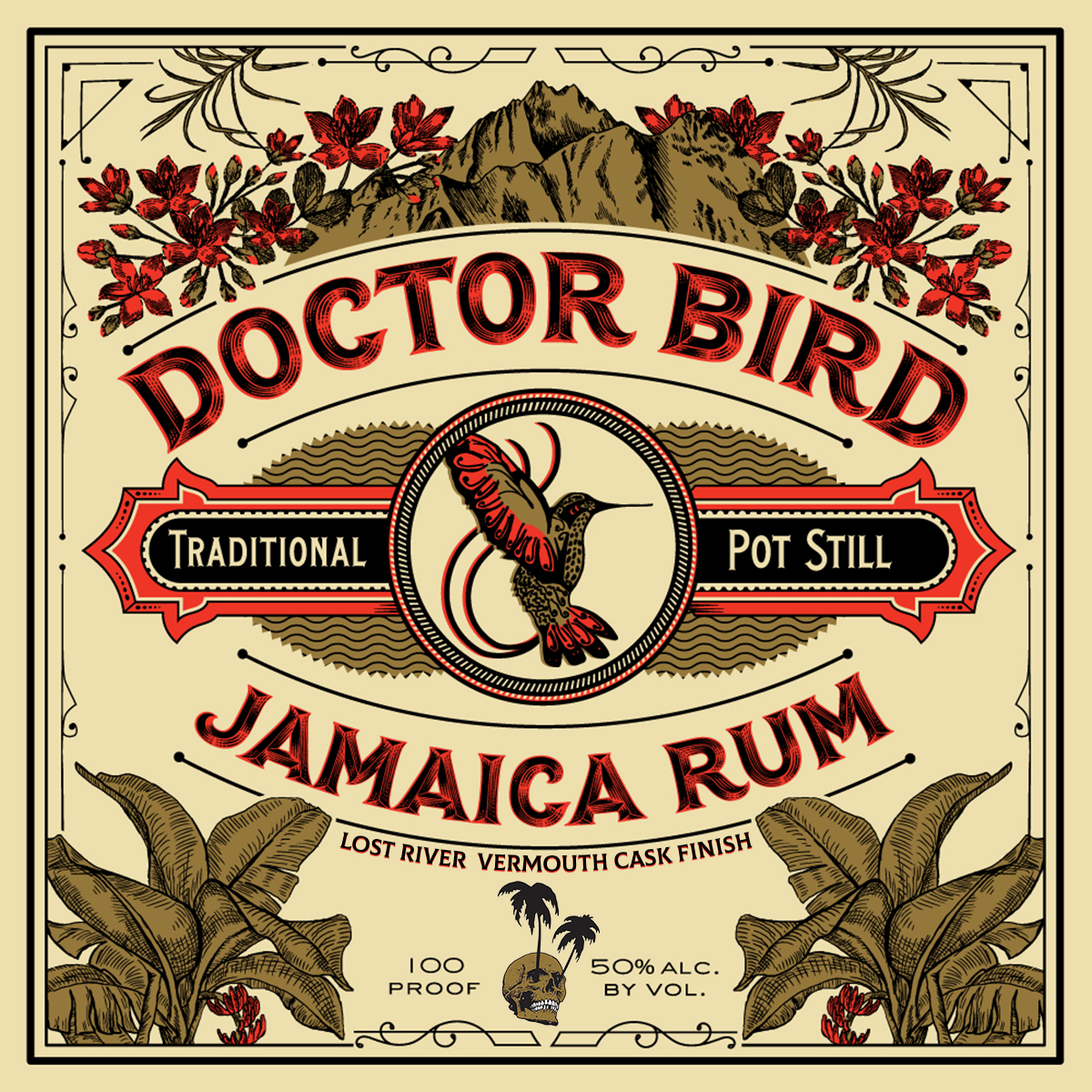 Lost River Vermouth Cask Doctor Bird Bottle (750 ML)