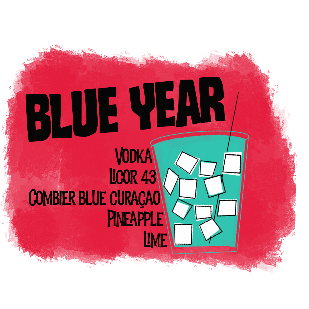 Blue Year Cocktail To-Go