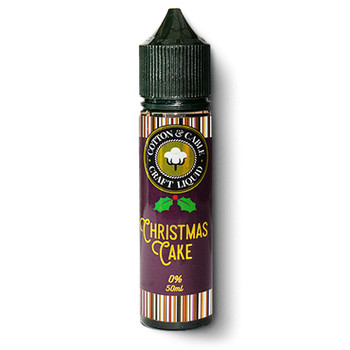 Cotton & Cable Christmas Cake Shortfill 50 ml