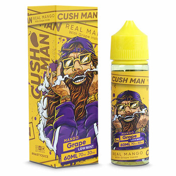 Nasty Cush Man | Grape | Short Fill 50ml