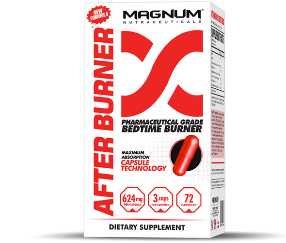 After Burner 72 Capsules + FREE Magnum Shaker