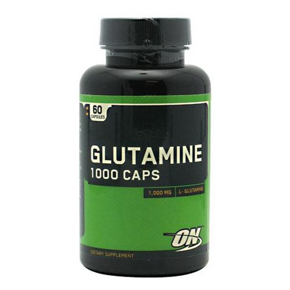 Glutamine 1000 Caps, 60 Capsules