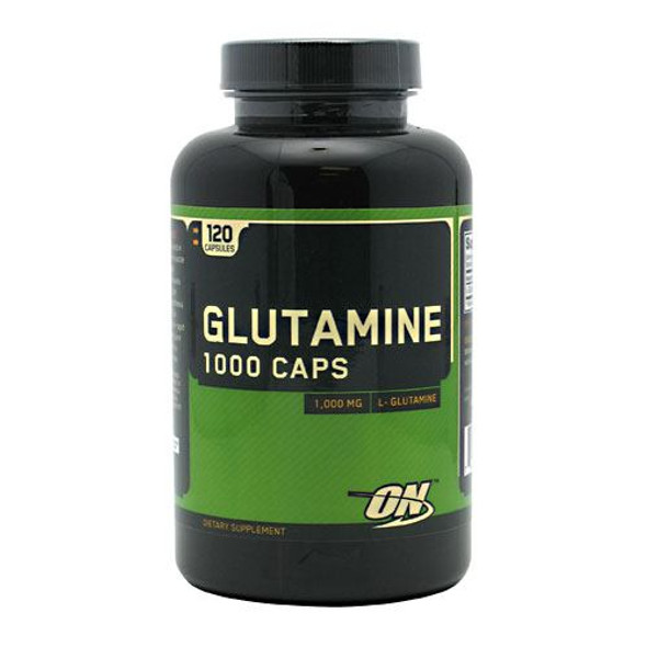 Glutamine 1000 Caps, 120 Capsules
