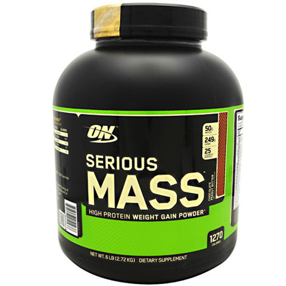 Serious Mass, Chocolate Peanut Butter