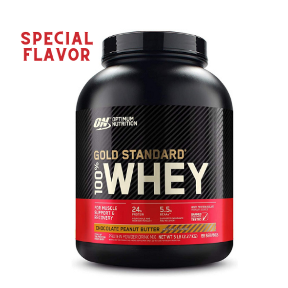 Gold Standard Whey Protein, Chocolate Peanut Butter 68 Servings