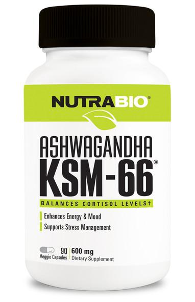 Ashwagandha KSM-66 Nutrabio