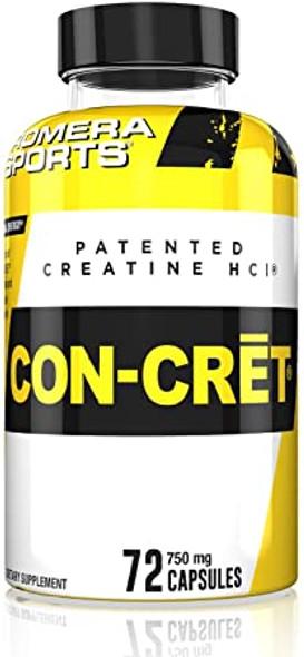Creatine HCL CON-CRET (72 Capsules)