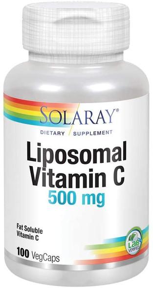 "Liposomal Vitamin ""C"" 500mg Solaray SALE!"