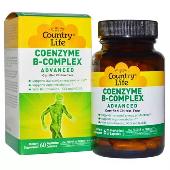 Coenzyme B-Complex Advanced 60 vegan caps