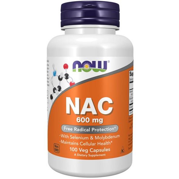 NAC Now 600 mg 100caps