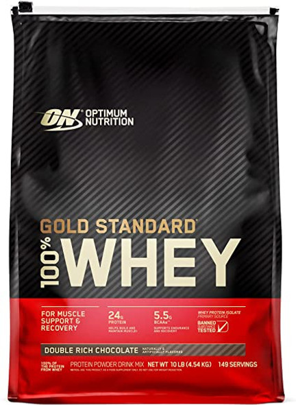 Gold Standard 100% whey protein 10lb