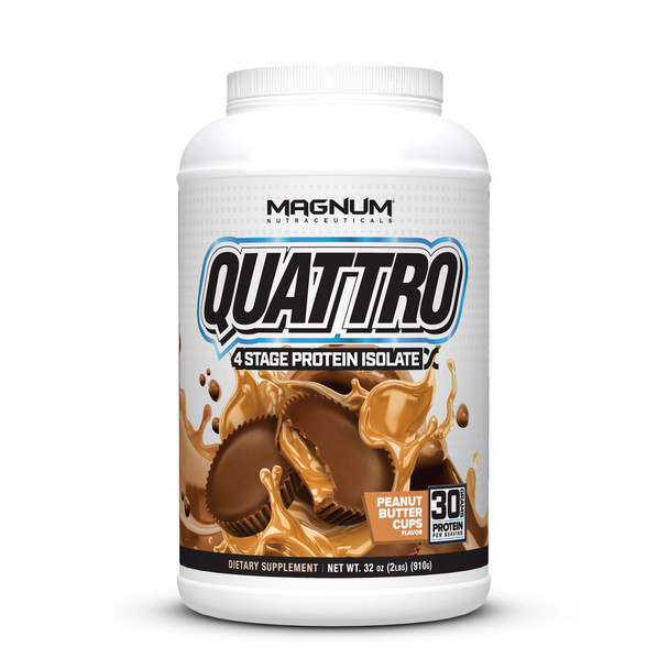 Quattro Multi Isolate Protein 2LB Peanut Butter Cups