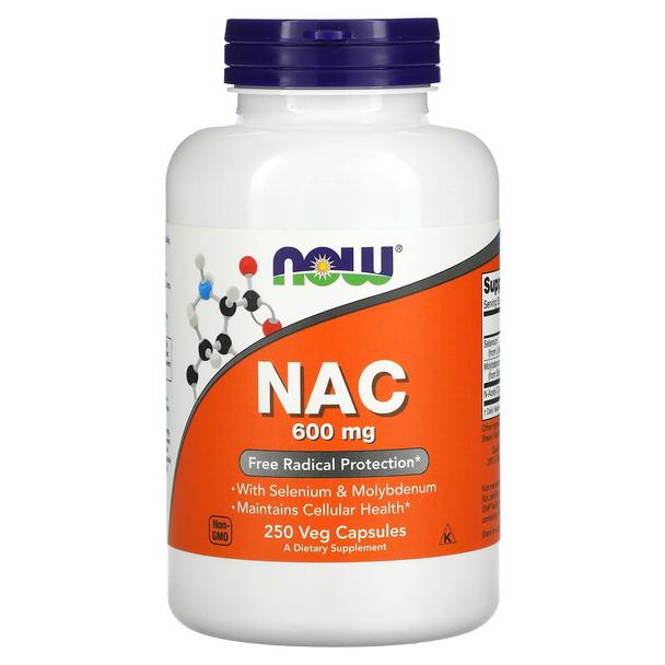 NAC Now 600 mg 250caps