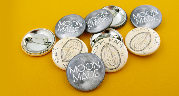 Moon Made Farms Buttons