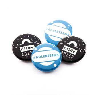 Adler Planetarium Buttons