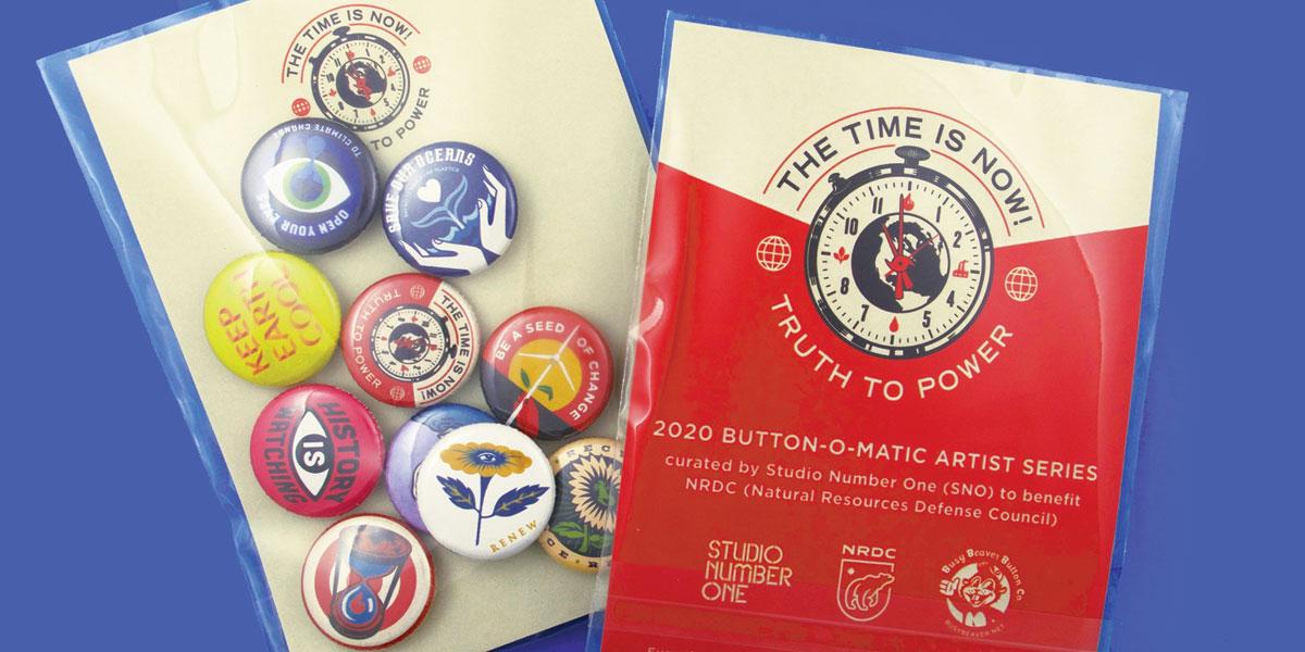 2020 Button-O-Matic Artist Series