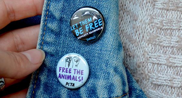 PETA Buttons