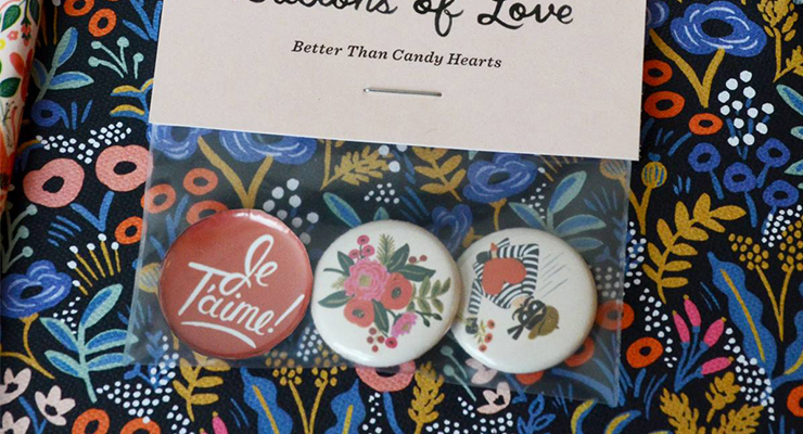 Rifle Paper Co. Buttons