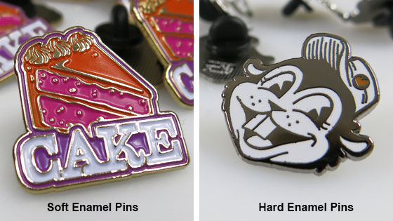 Soft Enamel Pins or Hard Enamel Pins