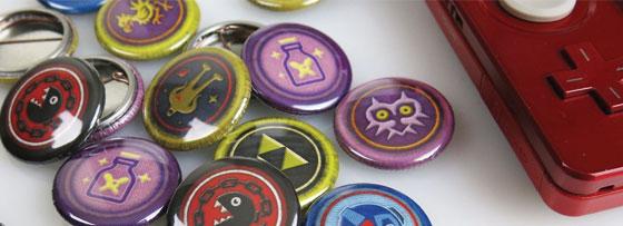 Fangamer Buttons