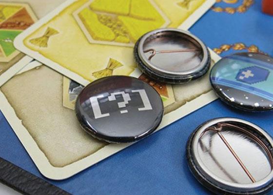 Custom Fangamer Buttons