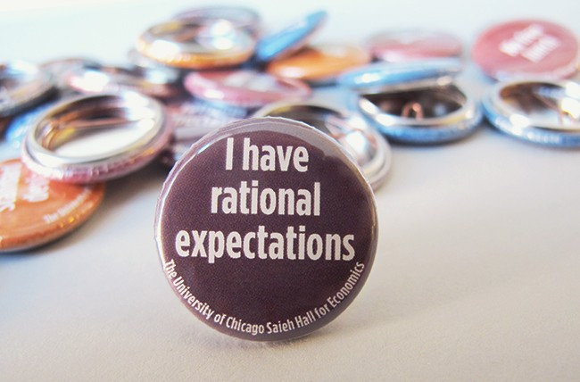 I have rational expectations Button