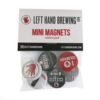 Left Hand Brewing Button Packs