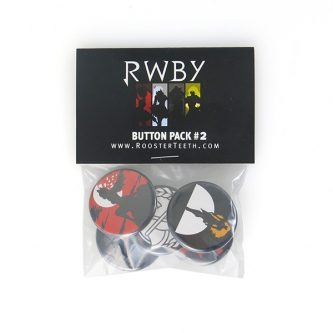 Rooster Teeth Button Pack