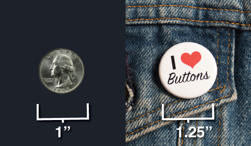 button sizes - 1.25 inch button