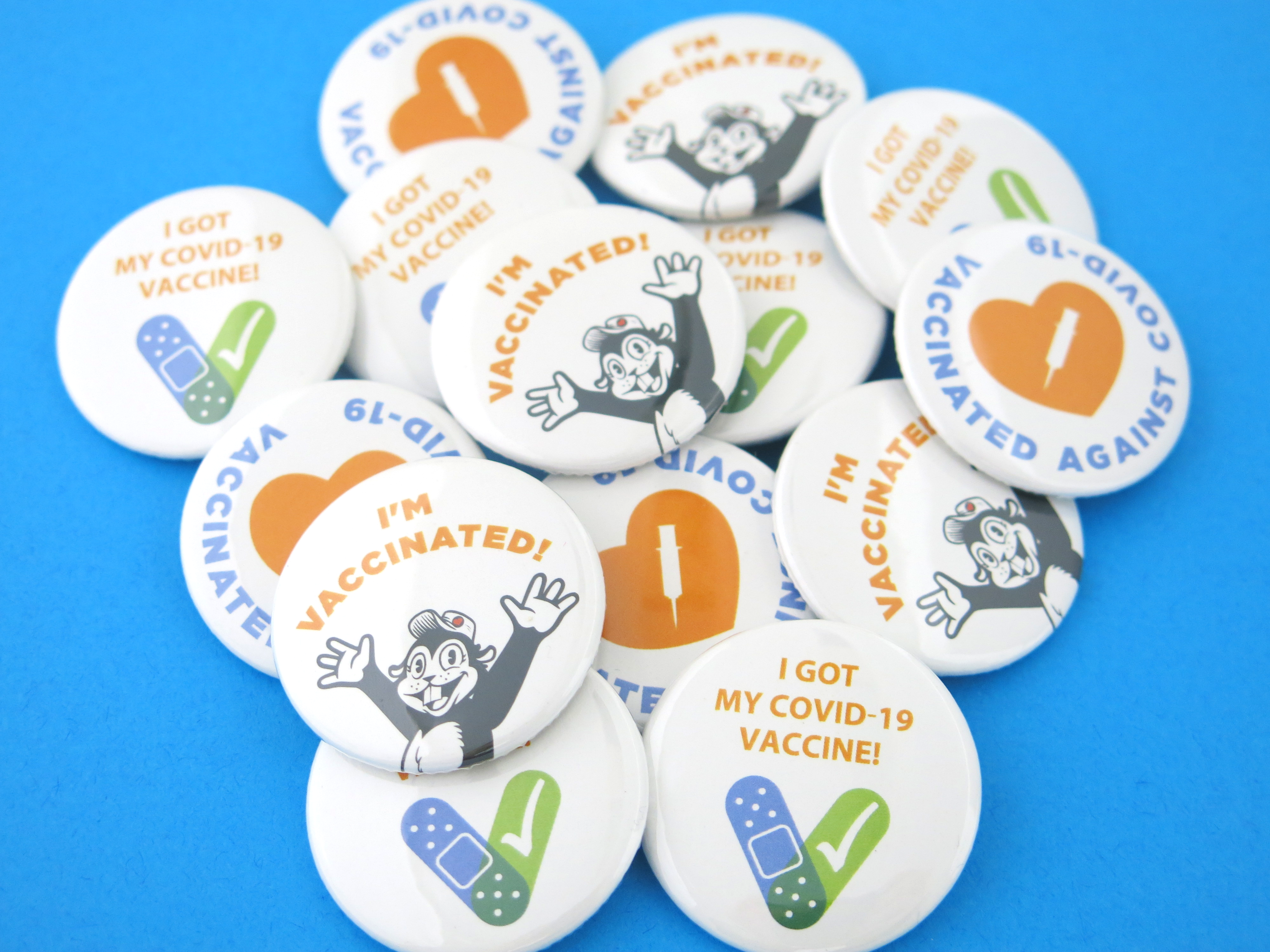 Vaccine Buttons